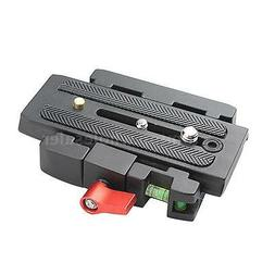 Tripod Quick Release Clamp QR Plate for Manfrotto 501 500AH