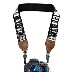 TrueSHOT Camera Strap with Grey Southwest Neoprene Pattern a