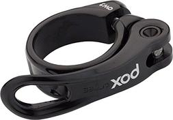 BOX TWO QR-1 31.8MM BLACK QUICK RELEASE BICYCLE SEAT CLAMP