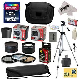 Ultimate Accessory Kit for Canon PowerShot G16 G15 Digital C