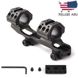 "US 30mm/1"" Dual Ring Cantilever Scope Rail Mount Picatinny W"