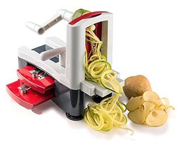 HOMEE Spiralizer 3-Blade Vegetable Slicer with Strong Heavy