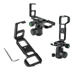 Vertical Quick Release QR L-Plate Bracket Hand Grip For Sony