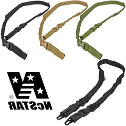 NcSTAR VISM Adjustable 1 & 2 Point Tactical Padded Bungee Qu