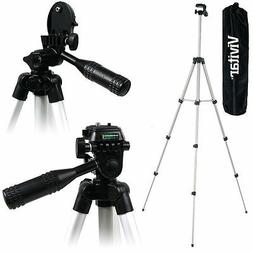 """Lightweight Vivitar 50"""" Tripod With Case For Nikon Coolpix A"""