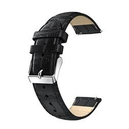 NewKelly Watchband for Huawei Asus Zenwatch 2,Leather Strap