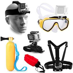 Water Sports Adventure Kit with Diving Mask + Head and Chest