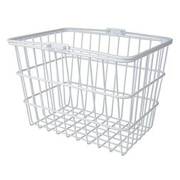 Sunlite Standard Wire Lift-Off Basket w/ Bracket, White