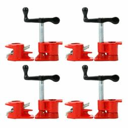 "3/4"" Wood Gluing Pipe Clamp Set Heavy Duty PRO Woodworking"
