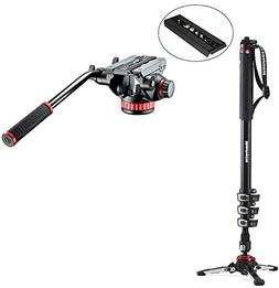 Manfrotto XPRO Four-Section Aluminum Monopod with Manfrotto