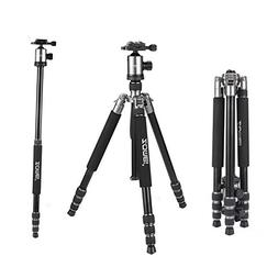 ZOMEi Professional Z818/888 Camera Tripod and Monopod with 3
