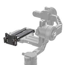 Zhiyun Crane 2 Quick Release Plate with 1/4 Screw for Panaso